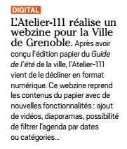 InterMedia - Atelier 111 - Ville de Grenoble - webzine