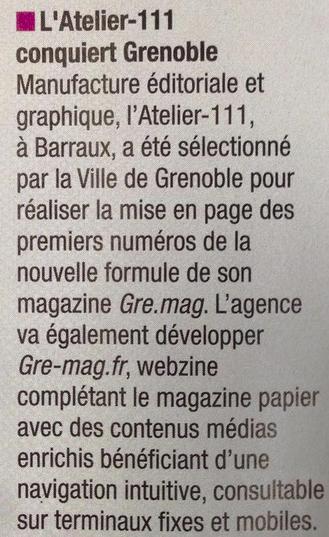 webzine grenoble valence 111media